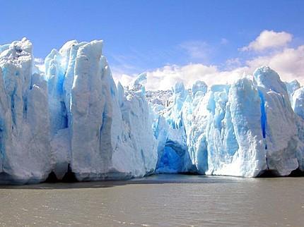 Grey gletsjers, chili