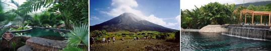 Arenal vulkaan, baldi hot springs